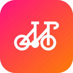 bicycle, cycle, transport, vehicle icon