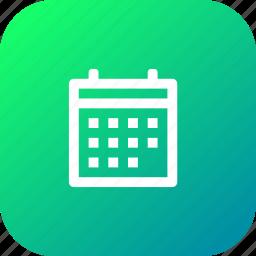 calender, date, day, reminder, schedule, year icon