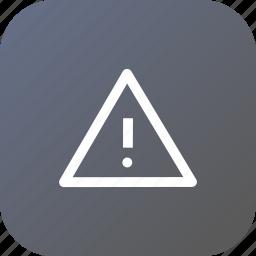 denied, info, no, notice, remind, sign, way icon