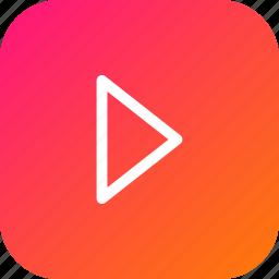 arrow, forward, music, next, play, replay icon