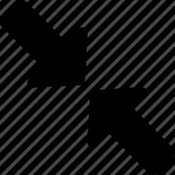 arrow, big, large, maximum, resize icon