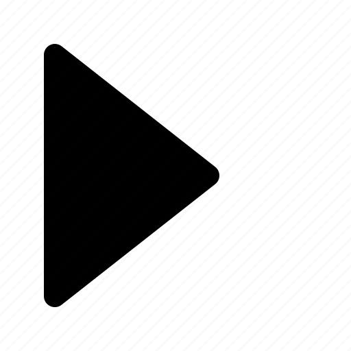 arrow, forward, next, play, replay icon
