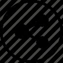 bluetooth, file, image, share, transfer icon