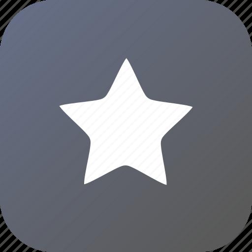 bookmark, favorite, rank, shape, star icon