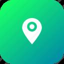 locate, location, marker, navigation, pin