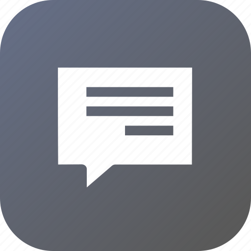 chat, chatting, message, notification, talk, text icon