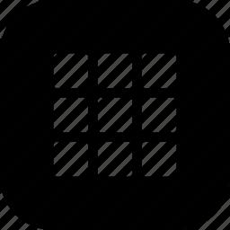 application, artboard, grid, layer, menu icon