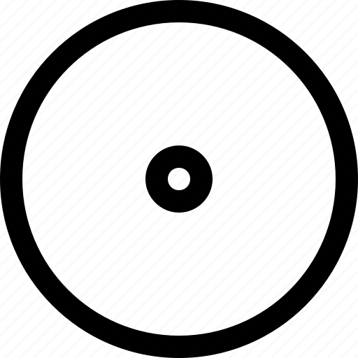 circle, design, disc, round, shape icon