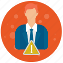 account, admin, administrator, alarm, profile, role, user, users icon