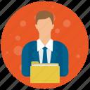 account, admin, administrator, folder, profile, role, user icon