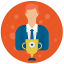 account, admin, administrator, award, profile, role, user, users icon