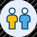 female, male, persona, user icon