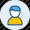 male, man, persona, user icon