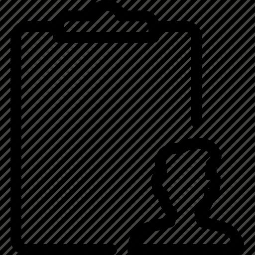 clipboard, documents, file, folder, paper icon
