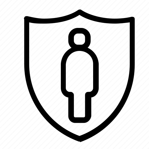 account, security, user icon