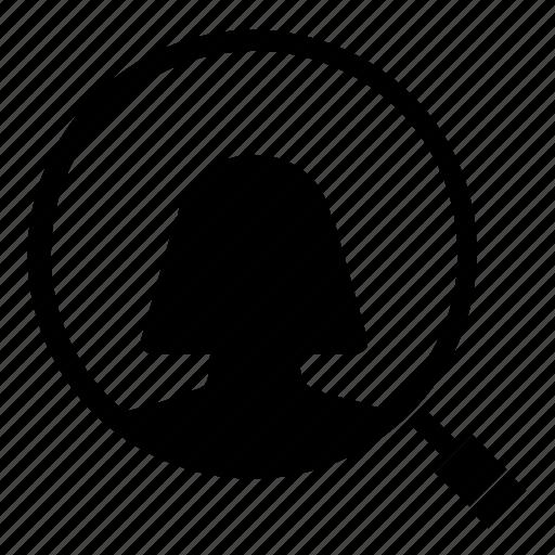 account, find, profile, search icon