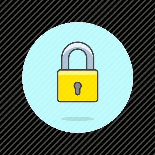 encrypt, key, lock, protect, safe, secure, square icon