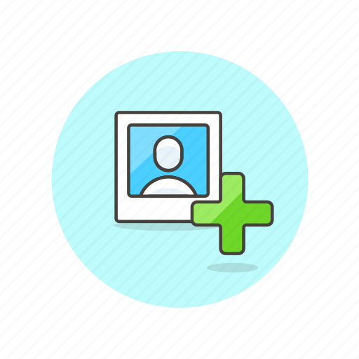 account, add, avatar, image, person, profile, user icon