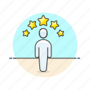 rating, user, users icon