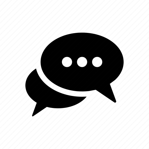 bubble, call, chat, conversation, dialogue, speech, talk icon