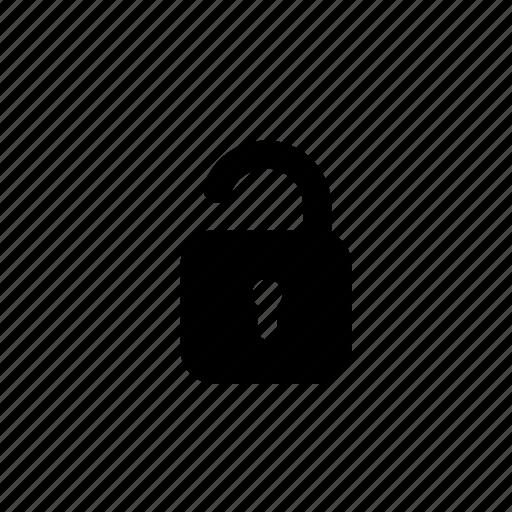 key, lock, password, safe, security, unlock, unlocked icon