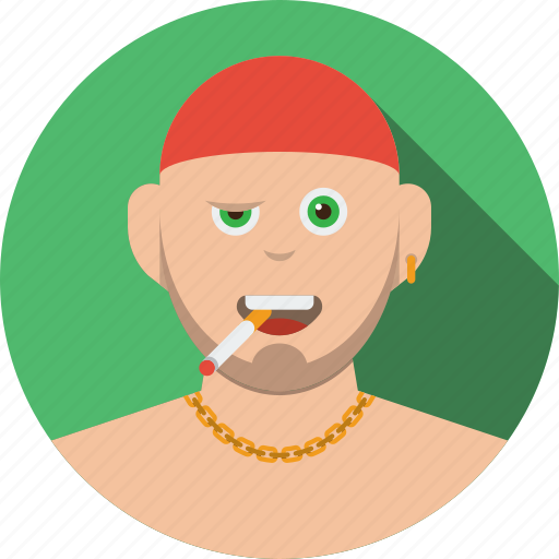 account, avatar, boy, character, human, male, man, people, person, profile, smoke, user icon