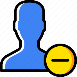 delete, group, people, team, user icon