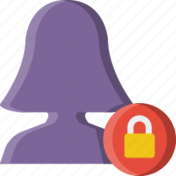 group, lock, people, team, user icon