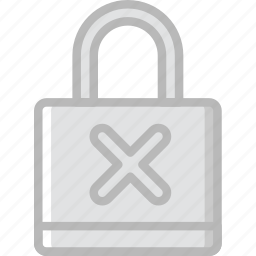 failure, group, lock, people, team, user icon