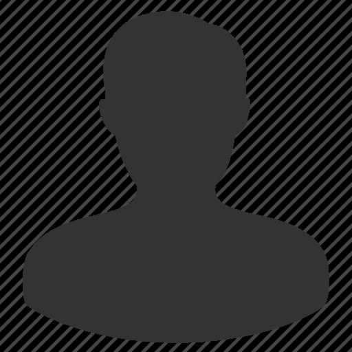account, male, man, profile icon
