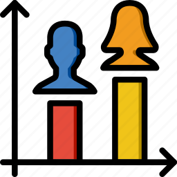 graph, group, people, team, user icon