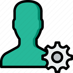 group, people, settings, team, user icon