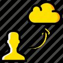 add, cloud, group, people, team, user