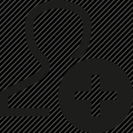 Add, user icon - Download on Iconfinder on Iconfinder