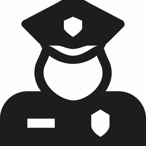 cop, user icon