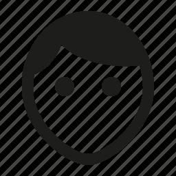 head, user icon