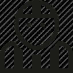 referee, user icon