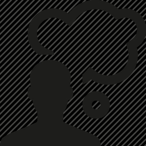 bubble, speech, user icon