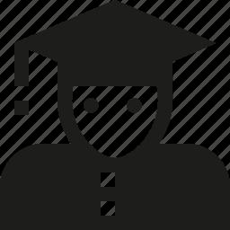 student, user icon