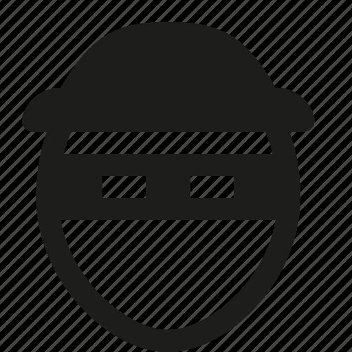 hat, thief, user icon