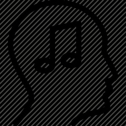 audio, music, player, profile, sound icon