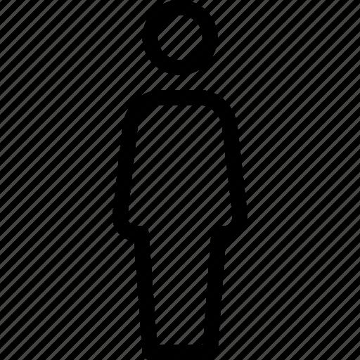 male, man, people, single, user icon