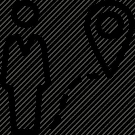 location, path, person, profile, user icon