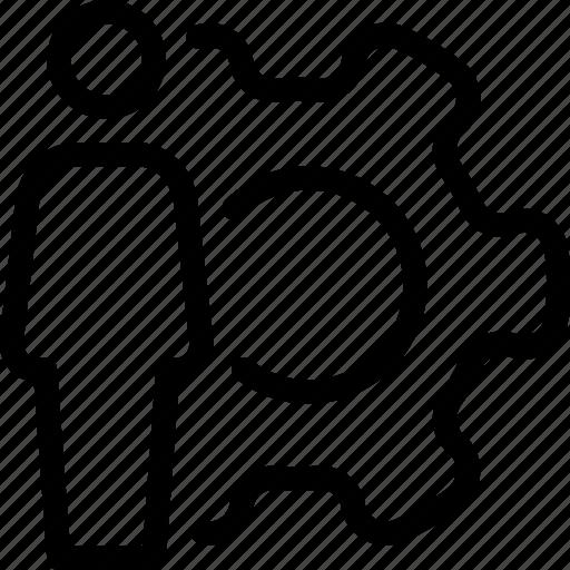 person, preferences, profile, settings, user icon