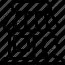 person, profile, shop, store, user icon