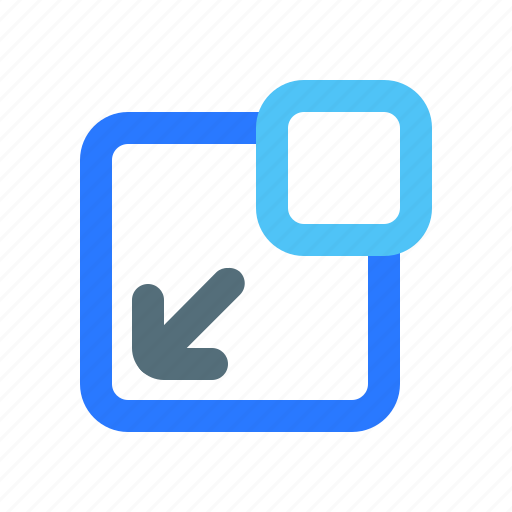 Arrow, flow for in diagonal, ui, ux icon - Download on Iconfinder
