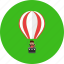 adventure, balloon, fly, tourist, transportation, travel, vacation icon