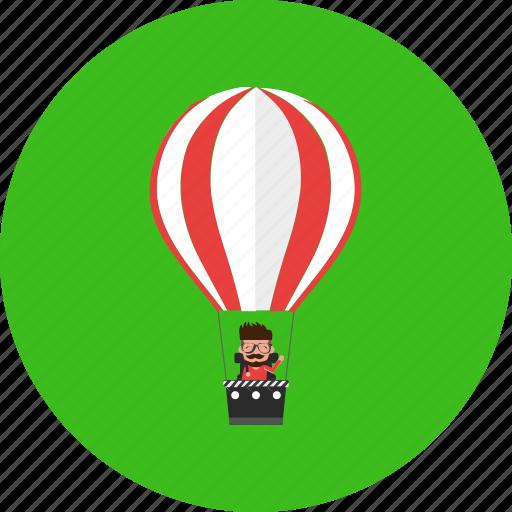 adventure, balloon, fly, tourist, transportation, travel, vacation icon
