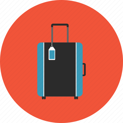adventure, bag, hotel, luggage, transportation, travel, vacation icon