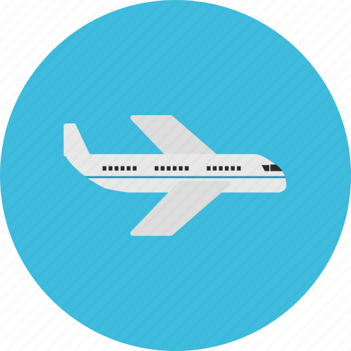 aircraft, fly, plane, tourist, transportation, travel, vacation icon